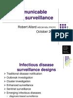 Communicable Disease Surveillance