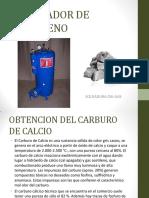 Semana 5 Generador de Acetileno - CA c2
