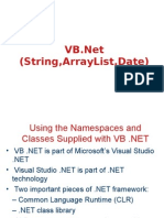 3 Strings,Array,Collection,date
