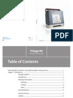 Trilogy 100 Patient Manual