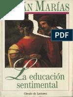 Julián Marías - La Educación Sentimental