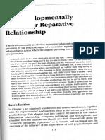 Developmentally Needed or Reparative Relationship