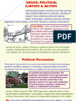 Influence Political Affiliation & Action