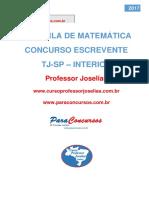 Apostila de Matemática Para o Escrevente 2017