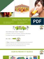 Dabur Real Juice - Group 9 Division C.pptx