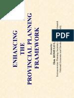 Provincial Planning Framework