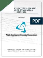 Web+Application+Security+Scanner+Evaluation+Criteria+-+Version+1.0.pdf