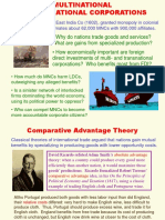 Multinational & Transnational Corporations