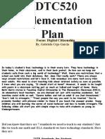 edtc520 implementationplan ggarcia