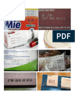 CONTOH Kode Produksi & Tanggal Kedaluwarsa