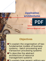 Session 7 - Application Architectures
