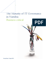 Deloitte IT Governance Survey