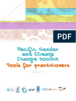 Pacific Gender and Climate Change Toolkit