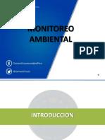 Monitoreo Ambiental_agua, Aire y Suelo