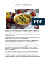 Laurasweets.ro-supa de Gaina Cu Taietei Reteta Fara Gluten