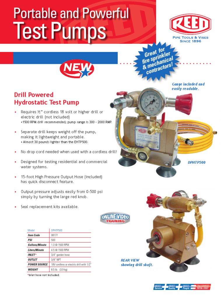 Hydrostatic Pump | Drill | Pump