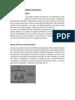 Instrumentos de Medición de Presion-Temperatura