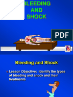 Bleeding shock
