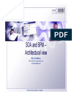 SOA and BPM – Architectural View
