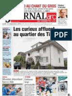 Le Journal Du Jura 10 11 13 Septembre 2010