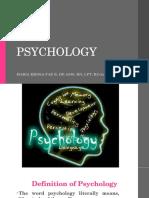 Psychology 2018