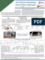 Estudo de Próteses Mecânicas  da Mão para Futura Aplicação