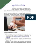 6 Tips Aman Menggunakan Internet Banking