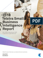 2018 Telstra Small Business Intelligence Report