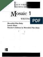 Mosaic 1 Writing Silver Ed