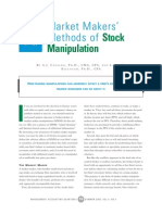 Market Makers' Methods of Stock Manipulation