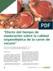 maduracion de carne