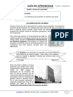 Guia de Aprendizaje Historia 4basico Semana 36 2015