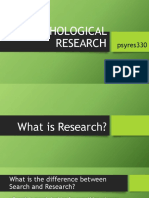 PSYRES330_-_What_is_Research.pptx
