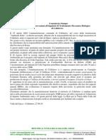 CS Retuvasa Colleferro Osservazioni TMB Colleferro 27.09.10