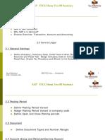 Sap Fico Course Contents