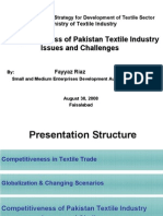 Competitiveness+of+Pakistan+Textile+Industry