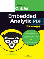Embedded Analytics for Dummies
