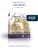 Horn and Tuba virtual