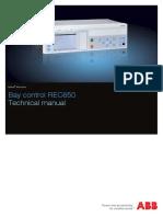 1MRK511287-UEN a en Technical Manual Bay Control REC650 1.3 IEC