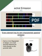 Spectral Emission