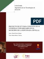 TFG. Proyecto de ICT Para Conjunto de 48 Viviendas Unifamiliares en El Municipio de La Rinconada (Sevilla)