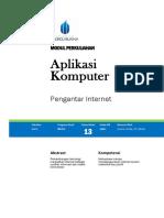 Modul Aplikom 13