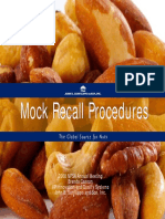 Mock Product Recall