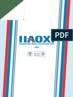Catalogo Haoxi 2016