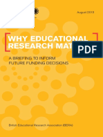 Why Educational Research Matters