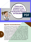 Como Preparar a Tus Alumnos Para La Evaluación Censal de Estudiantes (MANUAL)