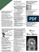 Rosário - Folheto