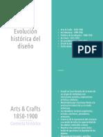Panorama Histórico Del Diseño