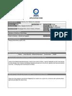 BA Application Form MAGALLON