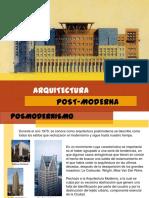arqupostmoderna-131213195054-phpapp01